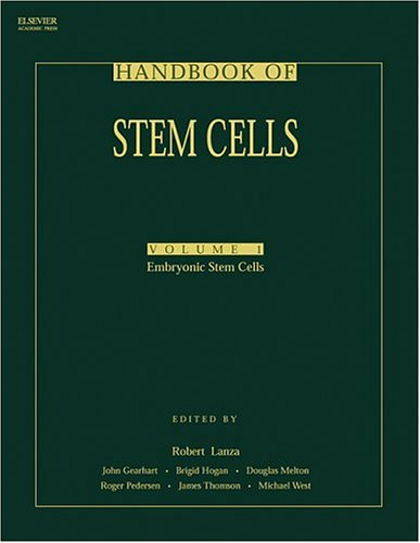 9780124366411: Handbook of Stem Cells, Volume 2: Adult & Fetal (Vol 1)