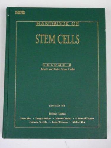 9780124366428: Handbook of Stem Cells: Vol 2