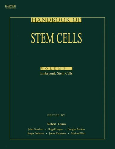 9780124366435: Handbook of Stem Cells, Two-Volume Set: Volume 1-Embryonic Stem Cells; Volume 2-Adult & Fetal Stem Cells: Embryonic Stem Cells v. 1