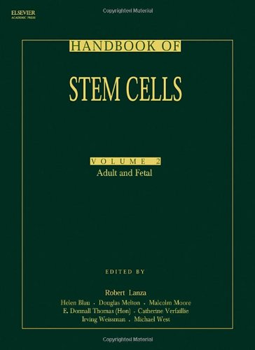 9780124366435: Handbook of Stem Cells, Two-Volume Set: Volume 1-Embryonic Stem Cells; Volume 2-Adult & Fetal Stem Cells (v. 1)
