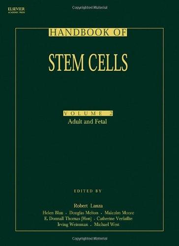 9780124366435: Handbook of Stem Cells, Two-Volume Set: Volume 1-Embryonic Stem Cells; Volume 2-Adult & Fetal Stem Cells (v. 1)