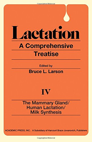 9780124367043: Lactation: The Mammary Gland; Human Lactation; Milk Synthesis v. 4: A Comprehensive Treatise