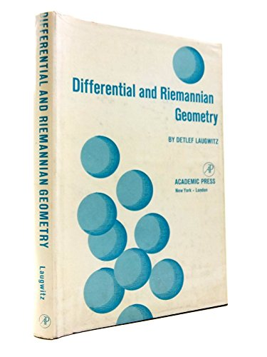 Differential and Riemannian Geometry: Detlef Laugwitz