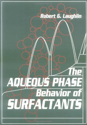 9780124377608: Aqueous Phase Behavior Surfactants (Colloid Science)