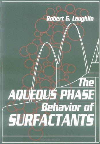 9780124377608: The Aqueous Phase Behavior of Surfactants (Colloid Science)