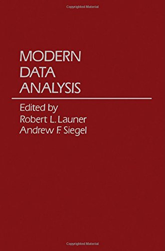 9780124381803: Modern Data Analysis