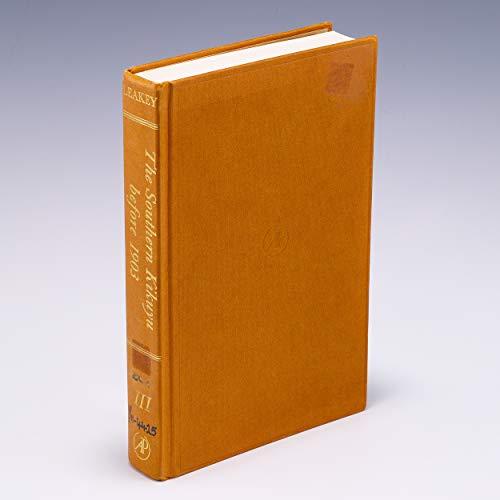 9780124399037: Southern Kikuyu Before 1903: v. 3