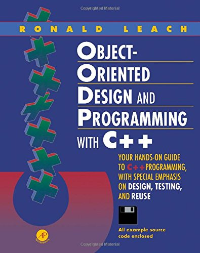 9780124402157: Object-Oriented Design and Programming With C++