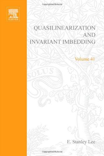 9780124402508: Quasilinearization and Invariant Imbedding