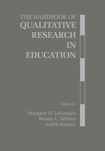 9780124405707: The Handbook of Qualitative Research in Education