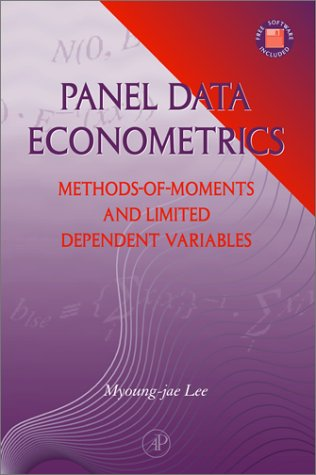 9780124406568: Panel Data Econometrics: Methods-of-Moments and Limited Dependent Variables