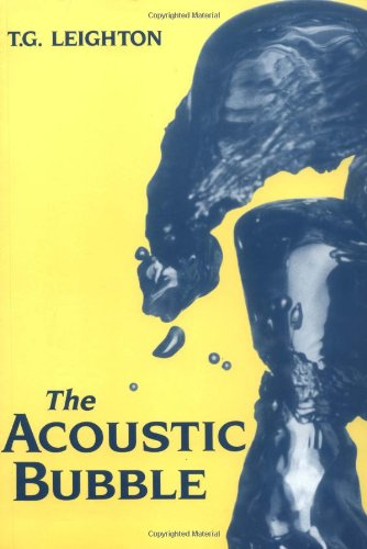 9780124419216: The Acoustic Bubble