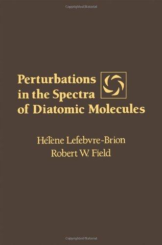 9780124426900: Perturbations in the Spectra of Diatomic Molecules