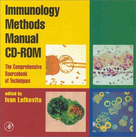 9780124427150: Immunology Methods Manual CD-ROM