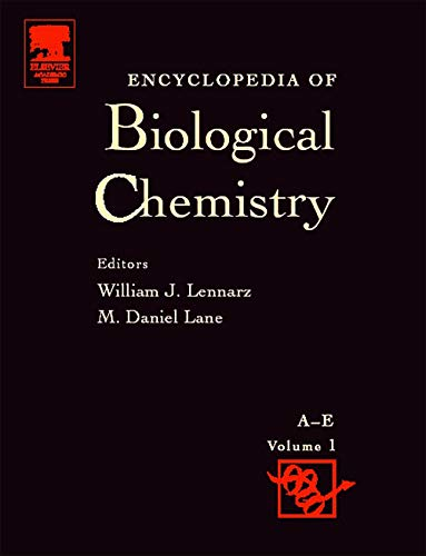 9780124437104: Encyclopedia of Biological Chemistry