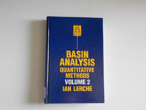 9780124441736: Basin Analysis: Quantitative Methods v. 2 (Academic Press geology series)