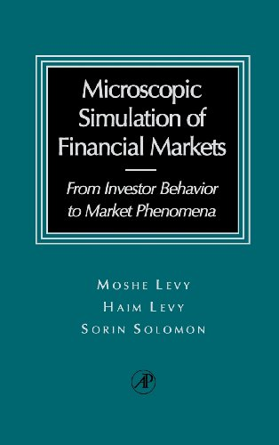 9780124458901: Microscopic Simulation of Financial Markets: From Investor Behavior to Market Phenomena