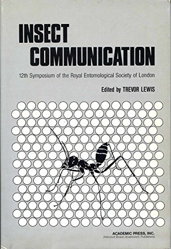 9780124471757: Insect Communication