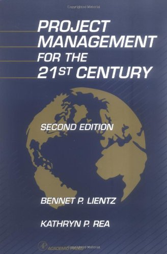 9780124499669: Project Management for the 21st Century, Second Edition