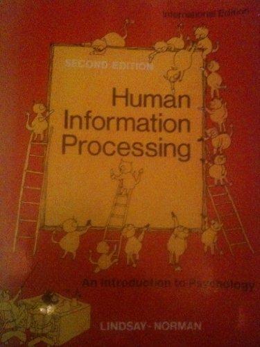 9780124509320: Human Information Processing