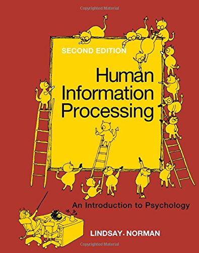 9780124509603: Human information processing: An introduction to psychology