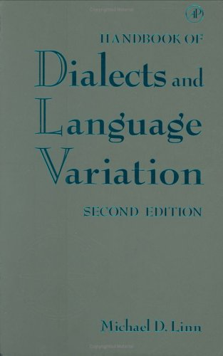 9780124510708: Handbook of Dialects and Language Variation, Second Edition