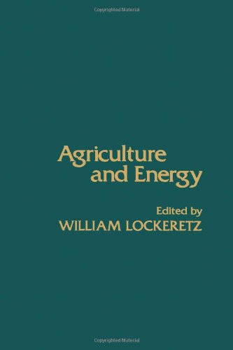9780124542501: Agriculture and Energy