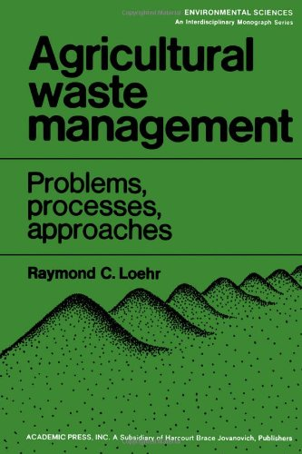 9780124552500: Agricultural Waste Management: Problems, Processes and Approaches (Environmental sciences)