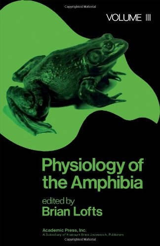 9780124554030: Physiology of the Amphibia: v. 3