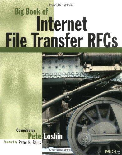 9780124558458: Big Book of Internet File Transfer RFCs (Big Books)