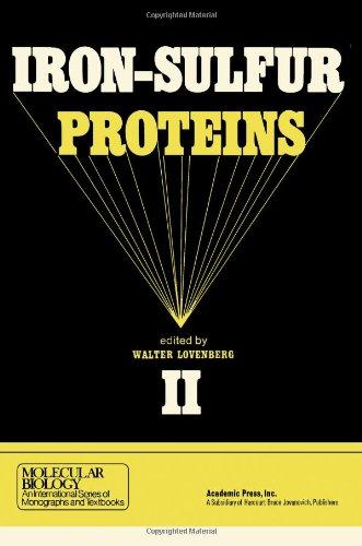 9780124560024: Iron-sulphur Proteins: v. 2 (Molecular Biology)
