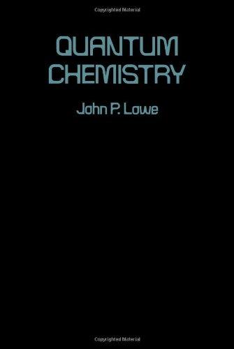 9780124575509: Quantum Chemistry