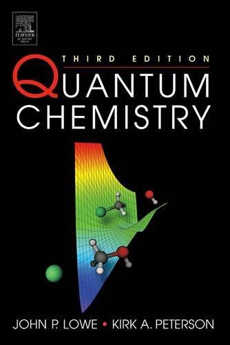9780124575516: Quantum Chemistry, Third Edition