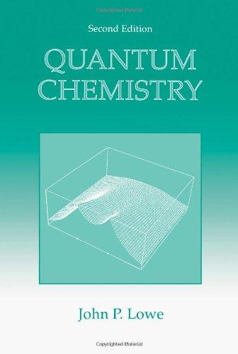 9780124575554: Quantum Chemistry, Second Edition