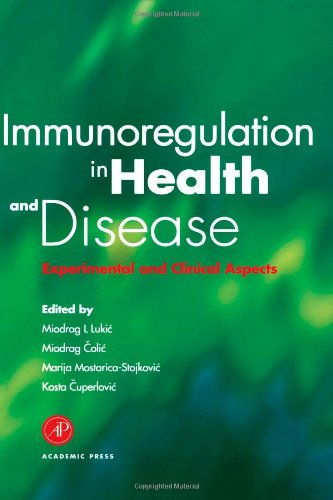 9780124594609: Immunoregulation in Health and Disease: Experimental and Clinical Aspects