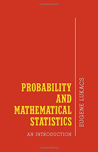 9780124598508: Probability and Mathematical Statistics: An Introduction