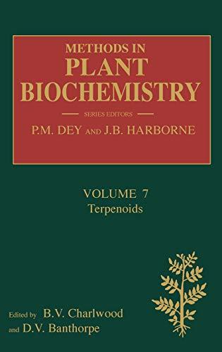 9780124610170: Terpenoids, Volume 7 (Methods in Plant Biochemistry)