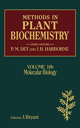 9780124610217: Molecular Biology, Volume 10B (Methods in Plant Biochemistry)