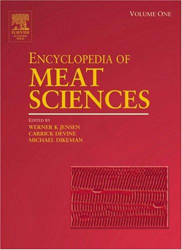 9780124649705: Encyclopedia of Meat Sciences, Three-Volume Set (Encyclopedia of Meat Sciences Series) (Vol 1-4)