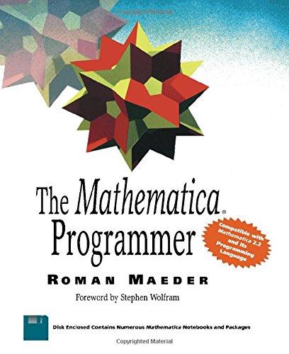 9780124649903: The Mathematica Programmer