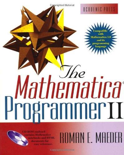 9780124649927: The Mathematica Bundle: The Mathematica Programmer II