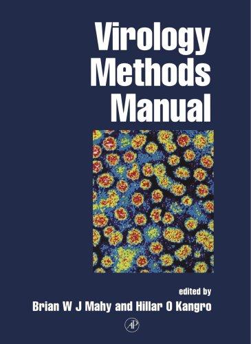 9780124653306: Virology Methods Manual