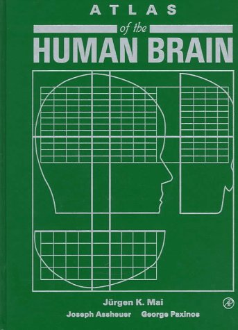 9780124653603: Atlas of the Human Brain
