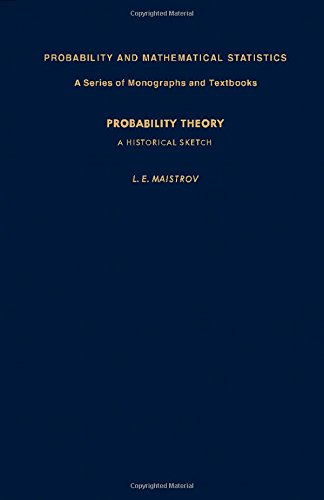 9780124657502: Probability Theory: A Historical Sketch (Probability & Mathematical Statistics Monograph) (English and Russian Edition)