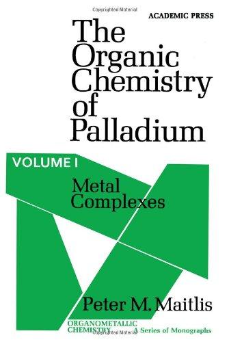 9780124658011: Organic Chemistry of Palladium: Metal Complexes v. 1 (Organometallic chemistry)