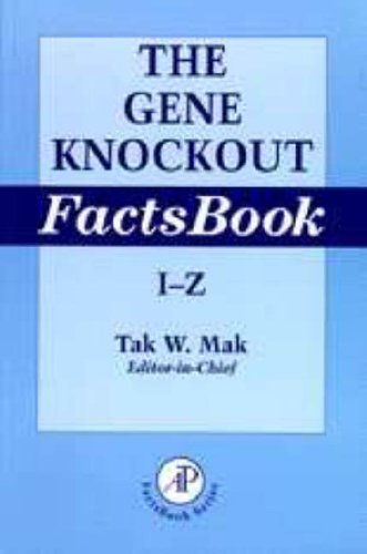 9780124660441: The Gene Knockout Factsbook, Two-Volume Set,
