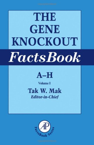 9780124660458: The Gene Knockout Factsbook
