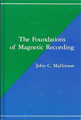 9780124666252: The Foundations of Magnetic Recording