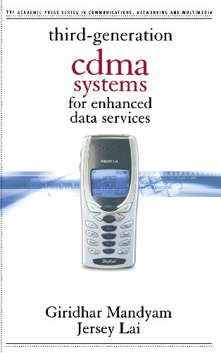 9780124680418: Third Generation Cdma Systems for Enhanced Data Services (Communications, Networking & Multimedia)