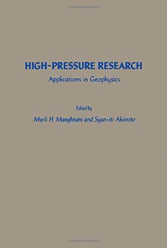 9780124687509: High-pressure Research: Applications in Geophysics